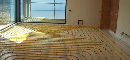 Podlahové vytápění praha